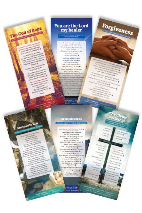 Proclamation Cards Pack 'Healing'