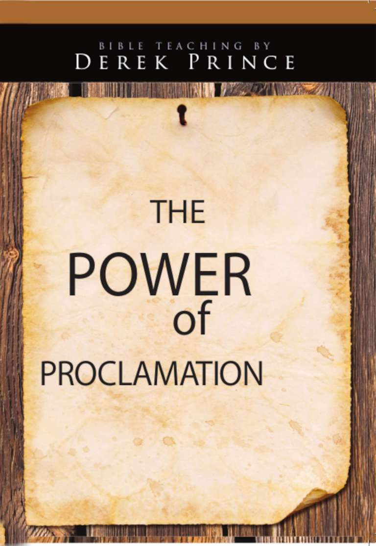 Power of Proclamation