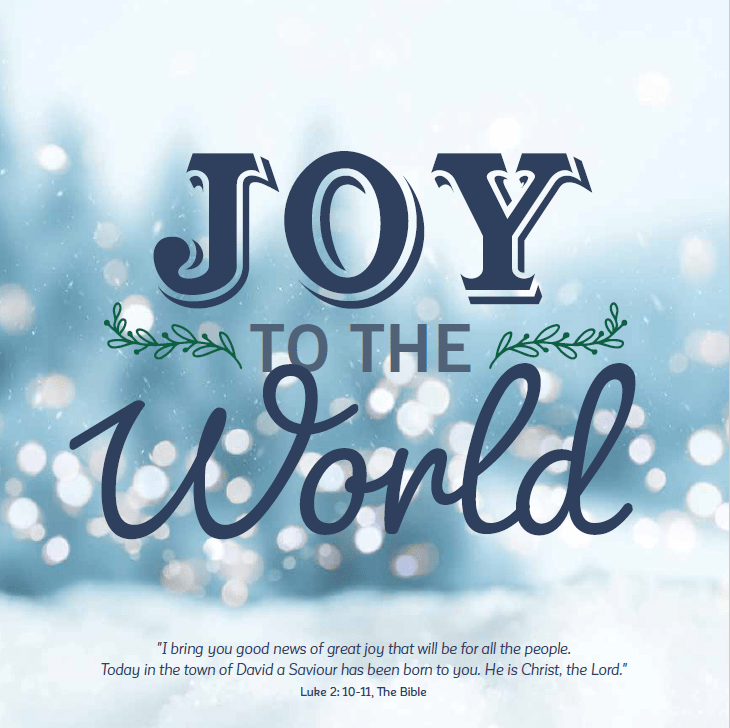 Joy to the World - Pack of 10