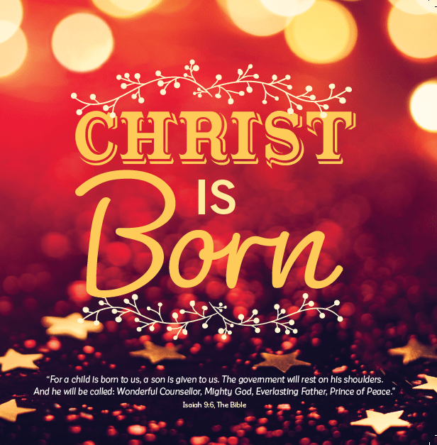 Christ is Born - Pack of 10