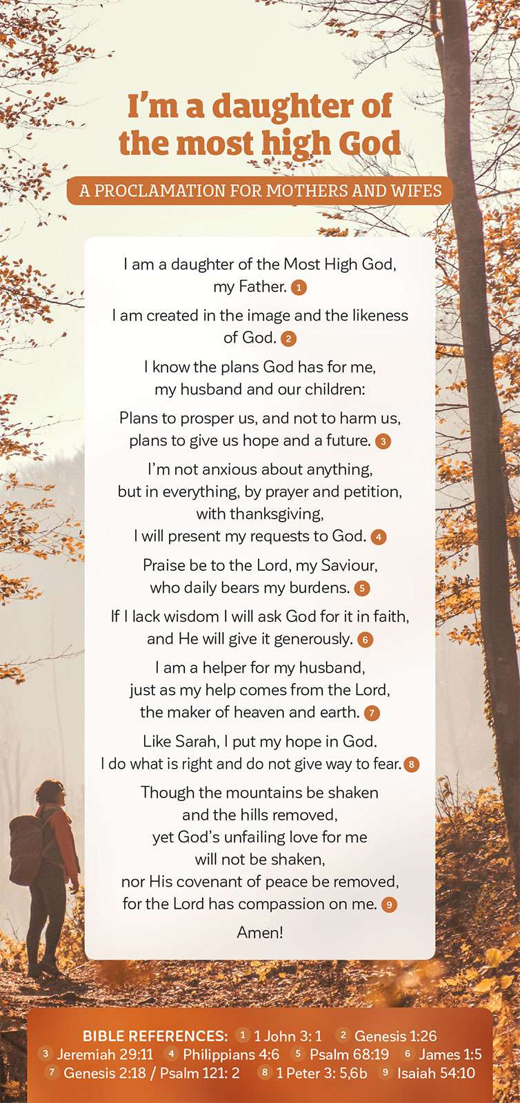 Proclamation of A Daughter of the Most High God