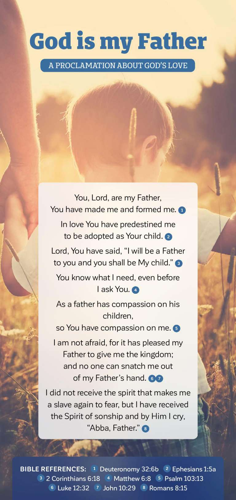 Proclamation - God is my Father