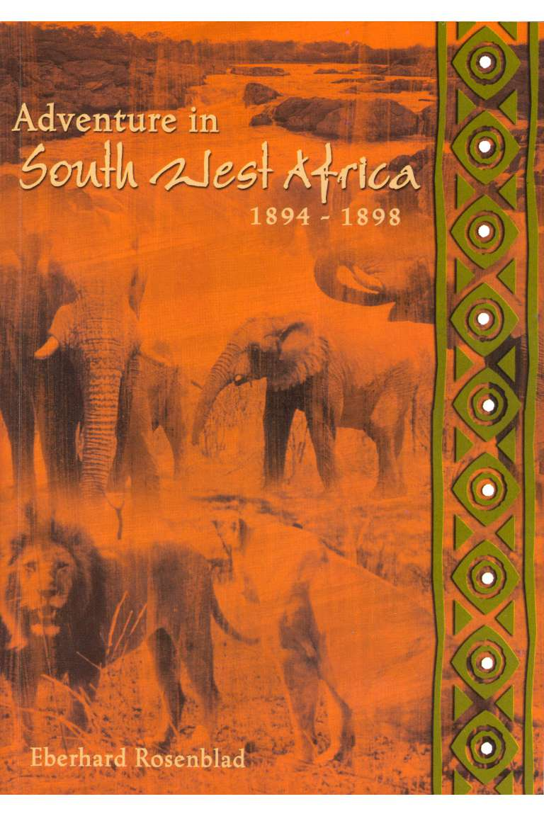 Adventure in South West Africa 1894-1898 Front
