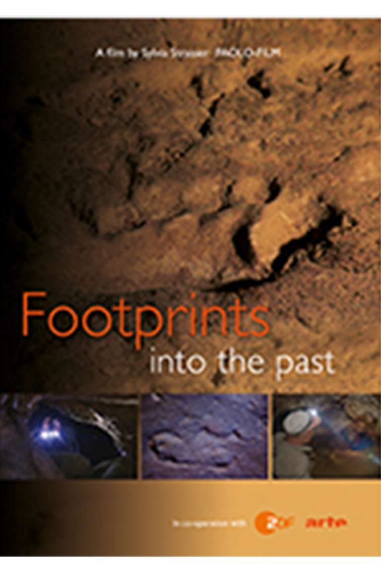 Footprints into the past Front