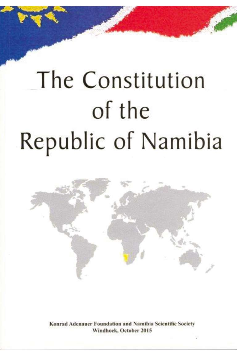 The Constitution of Namibia Front