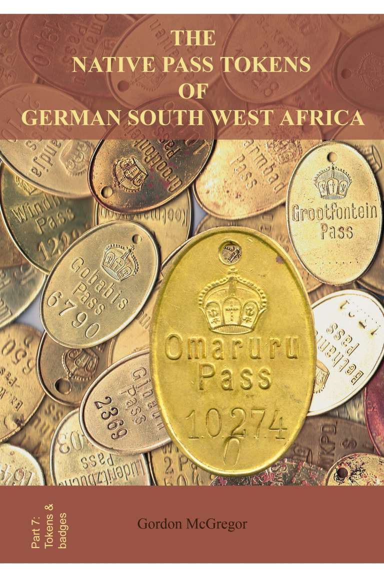 The Native Pass Tokens of German South West Africa Front
