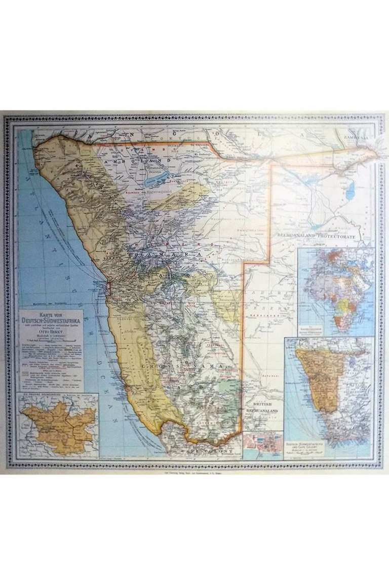 Map Namibia 1903 (small)