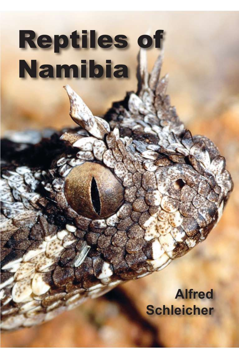 Reptiles of Namibia Front