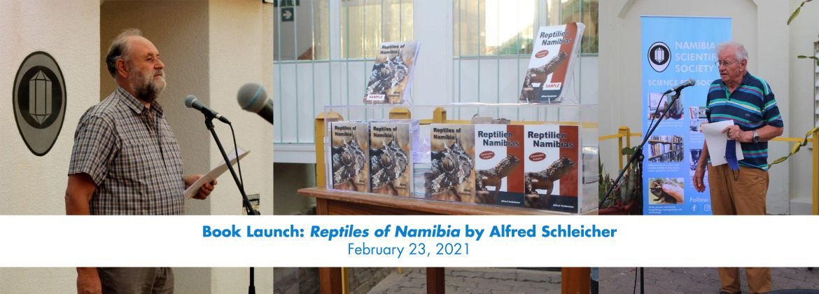 Book Launch: Reptiles of Namibia