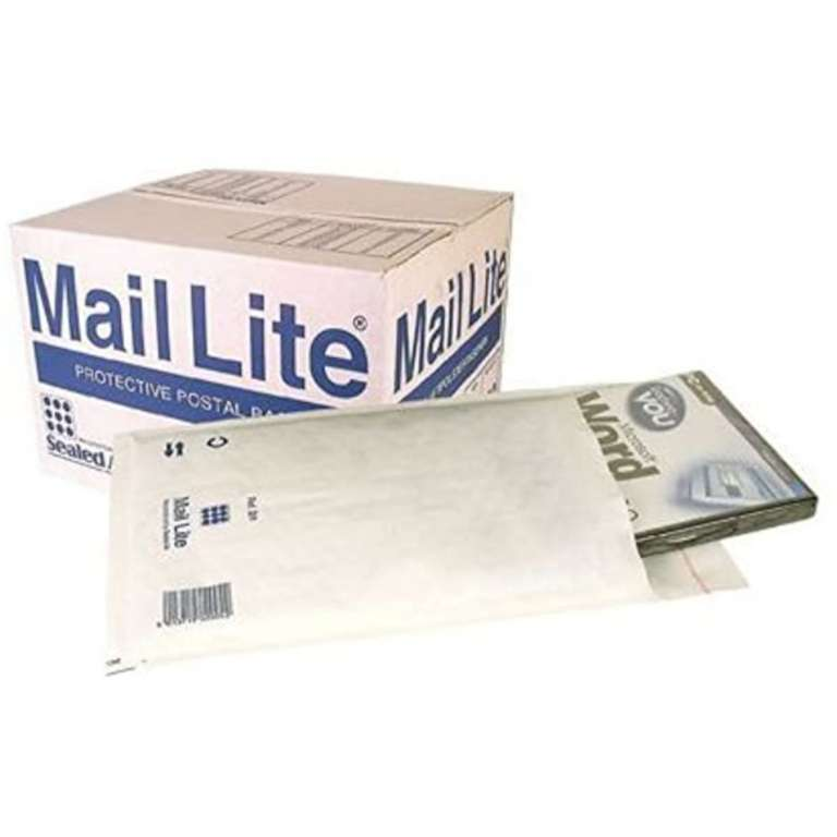 Mail Lite White Bubble Mailing Bags