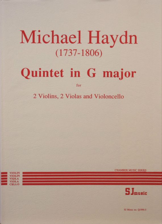 Haydn Quintet in G - cover