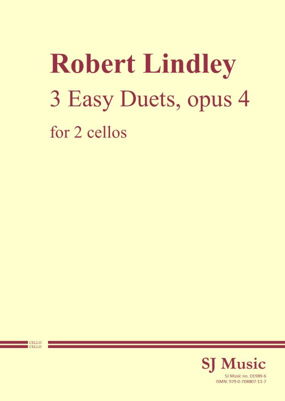 Lindley Duets op4 cover