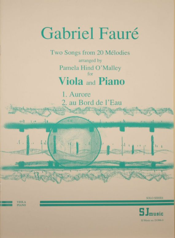 Faure 2 songs - viola- cover