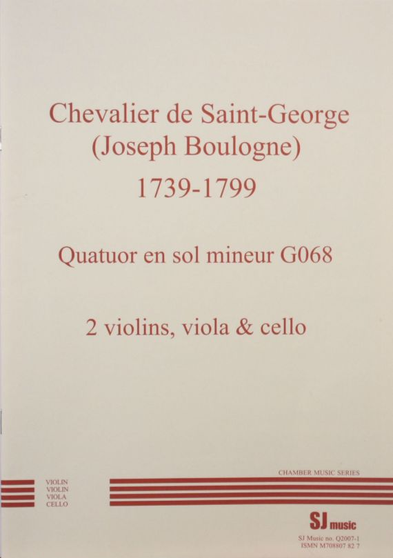Chevalier quartet cover