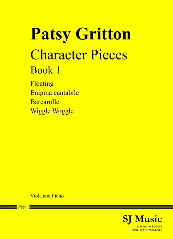 Character Pieces Book 1 cover