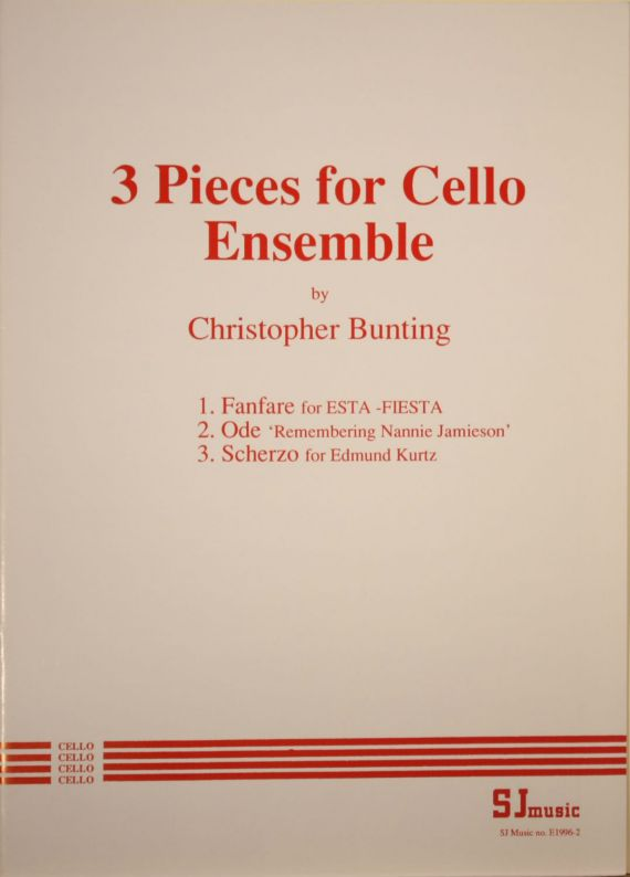 Bunting Cello Ensemble - cover