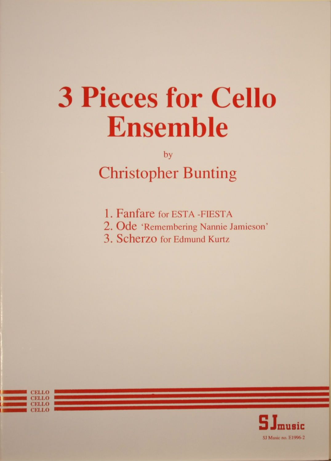 christopher bunting essay Christopher bunting christopher evelyn bunting was born in london on he wrote an essay on the craft of cello playing in 1982 and a portfolio.