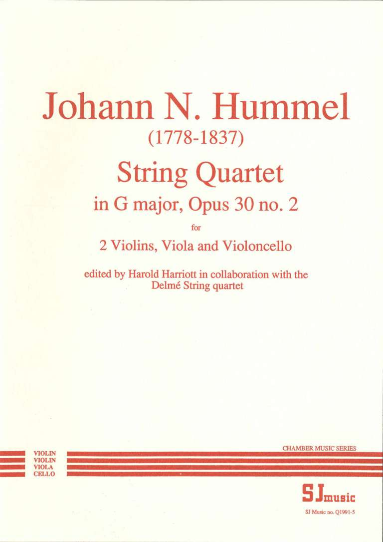 Hummel no 2 cover