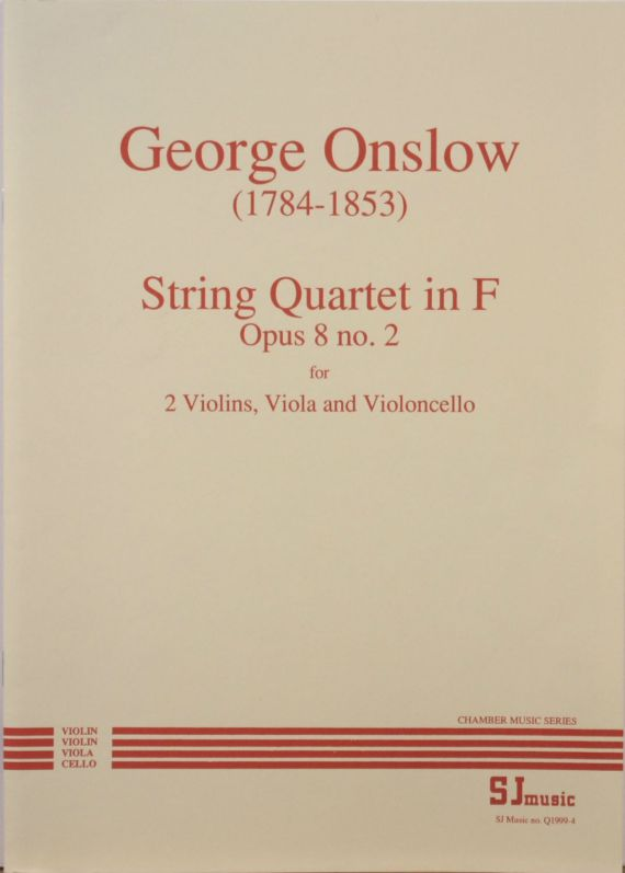 Onslow quartet 2 - cover