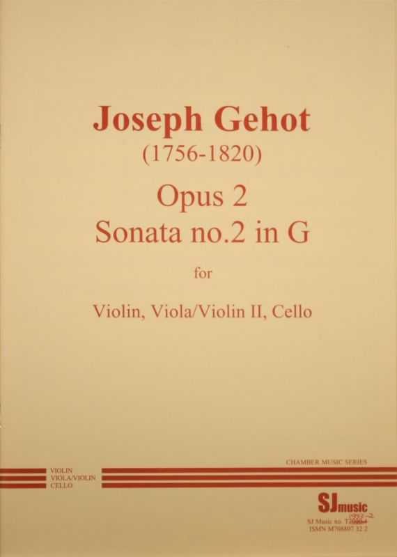 Gehot trio 2 - cover