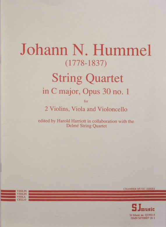 Hummel no 1 cover