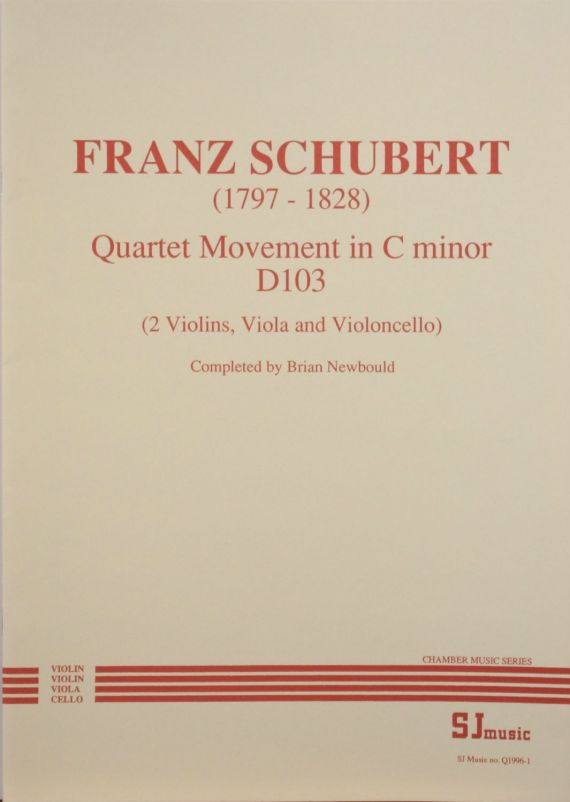 Schubert quartet - cover