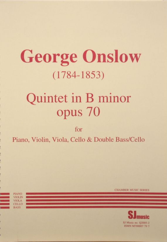 Onslow piano quintet - cover