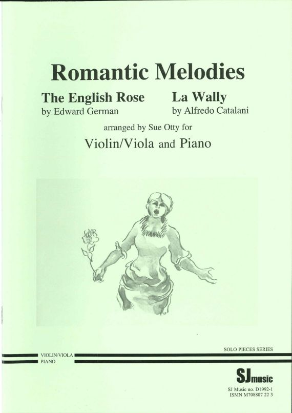 Romantic Melodies - viola - cover