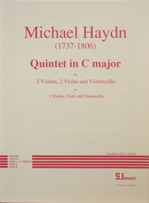 Haydn Quintet in C - cover