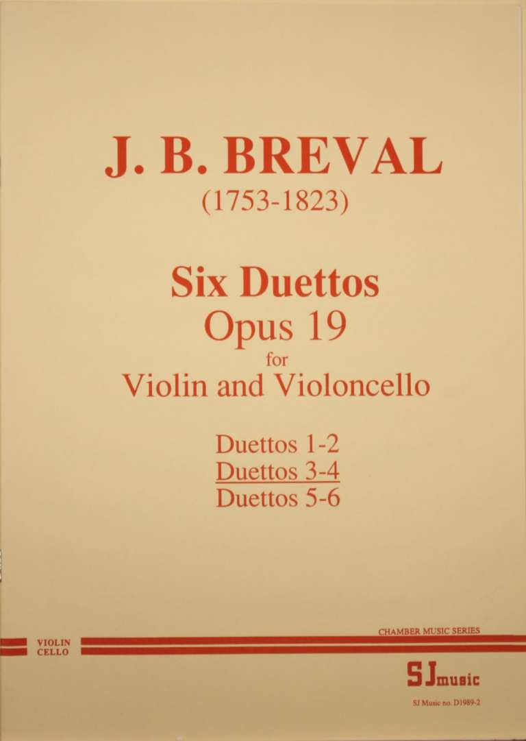 Breval Duets 3-4 cover