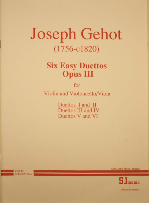 Gehot duets 1-2 cover