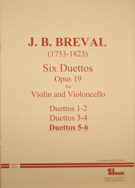 Breval Duets 5-6 cover