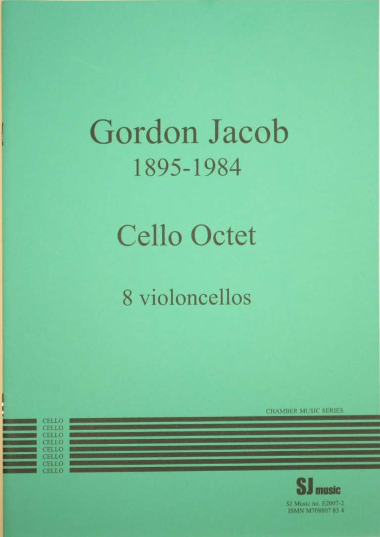 Jacob Cello octet - cover