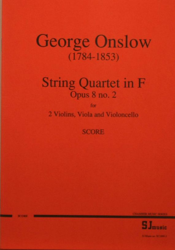 Onslow op8 no2 score - cover