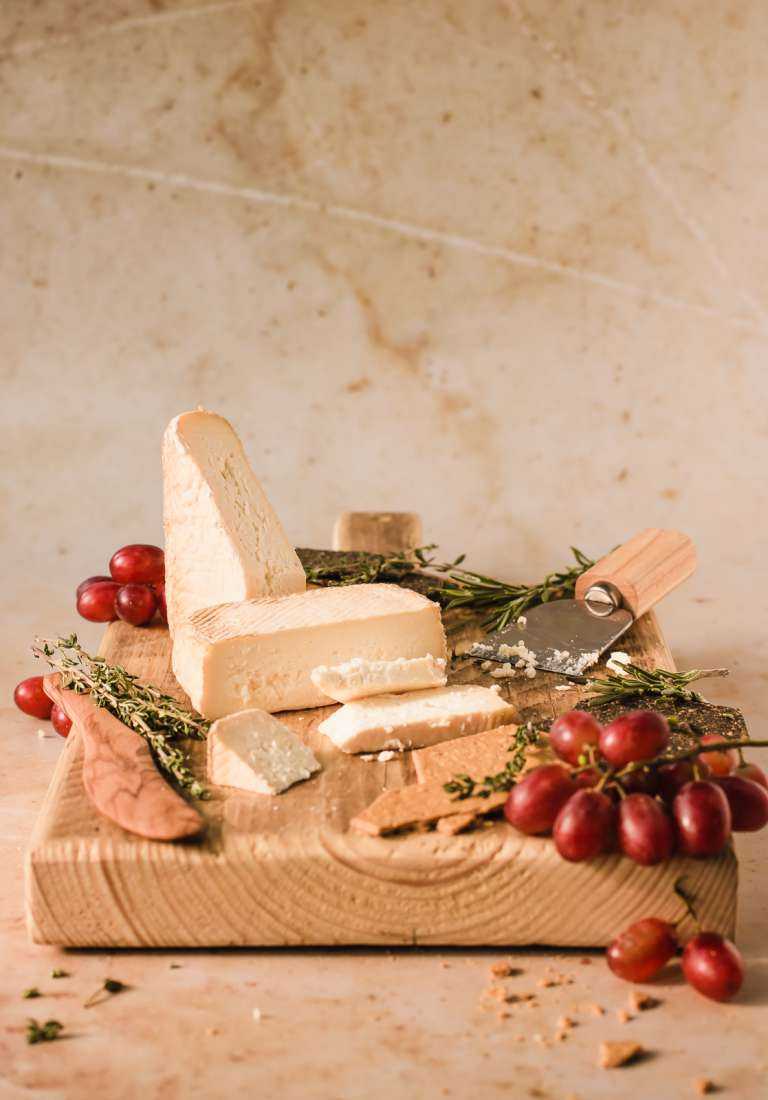 Strathearn whisky washed cheese