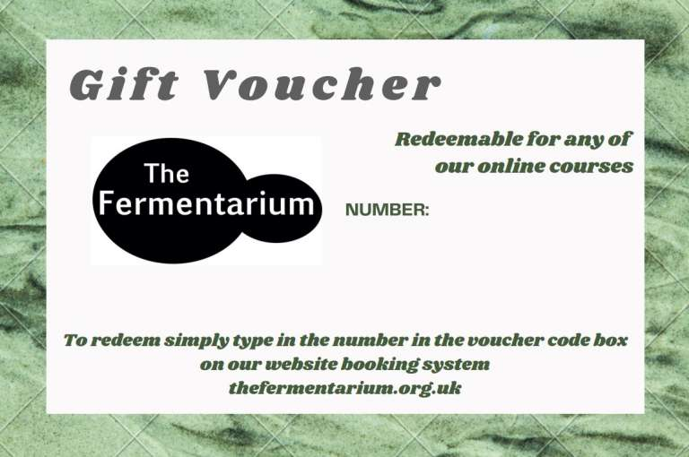Gift Voucher for Live Online Course